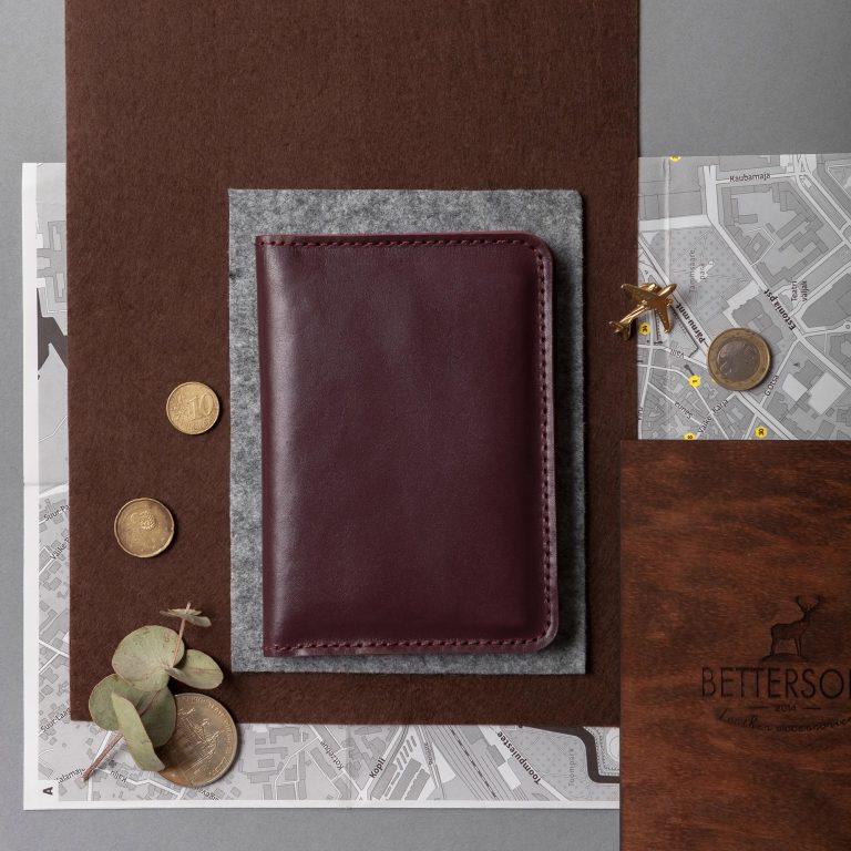 Кожаная обложка для паспорта, Обложка для документов, обложка на паспорт