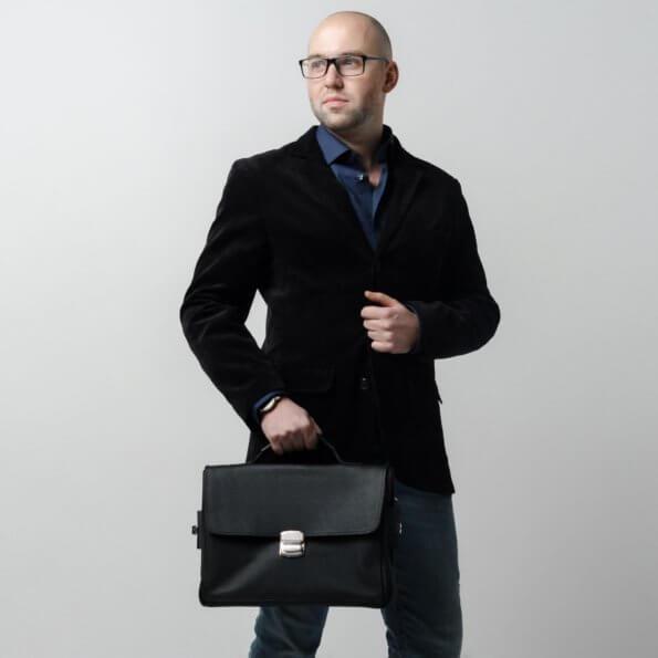 Мужская сумка деловой стиль