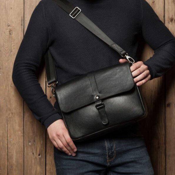 Кожаные сумки мужские